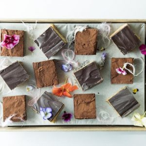Caramel Slice & Brownies Platter (GF)