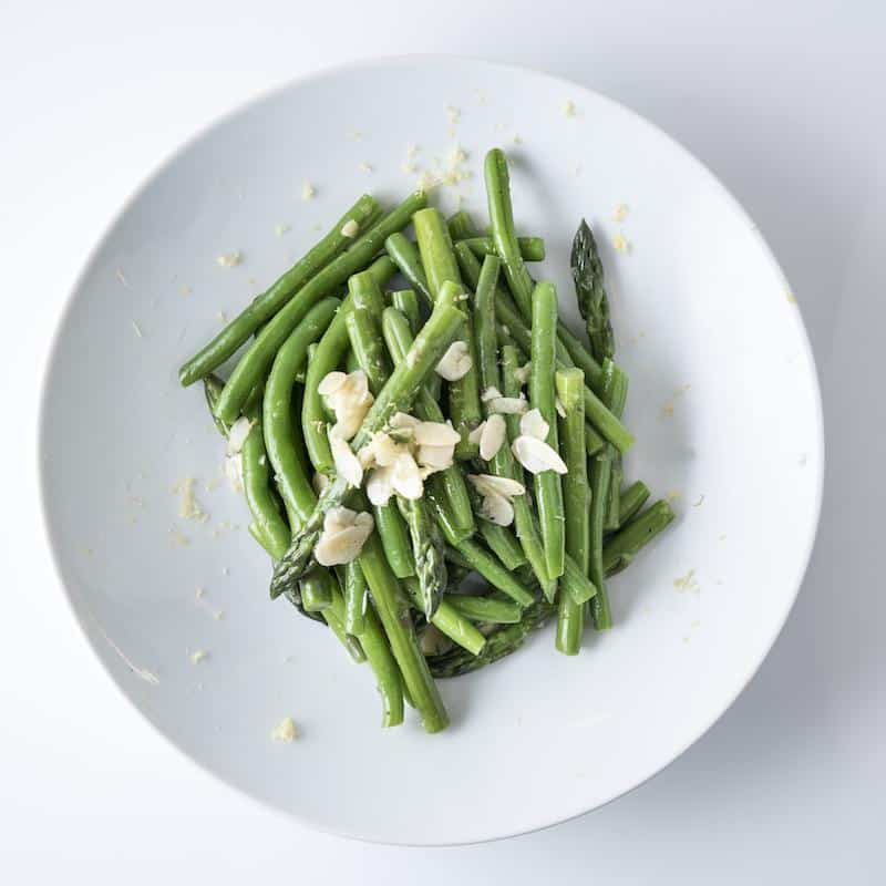 Asparagus and Green Beans