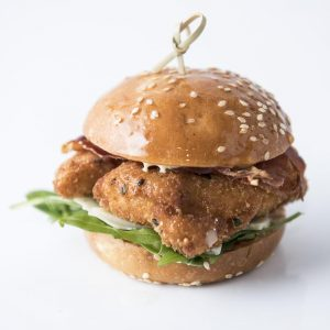 Chicken tender slider