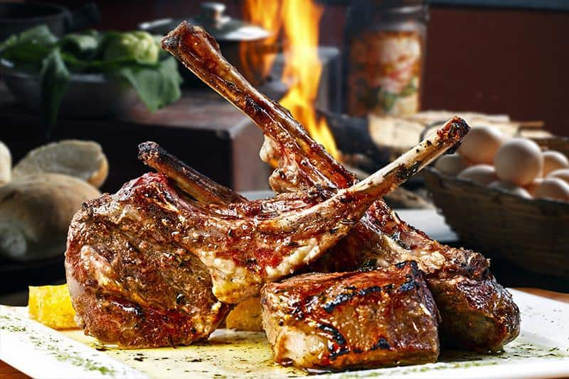 Lamb Cutlets – Lemon, Herb & Garlic (gf) (1 doz)